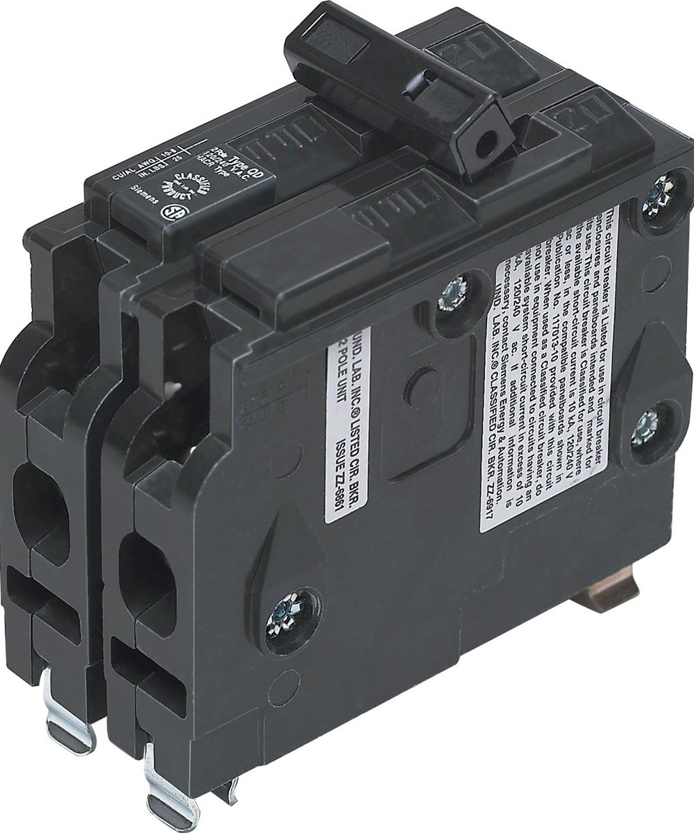 20 Amp 2 Pole 3/4 in. Panel Board Circuit Breaker