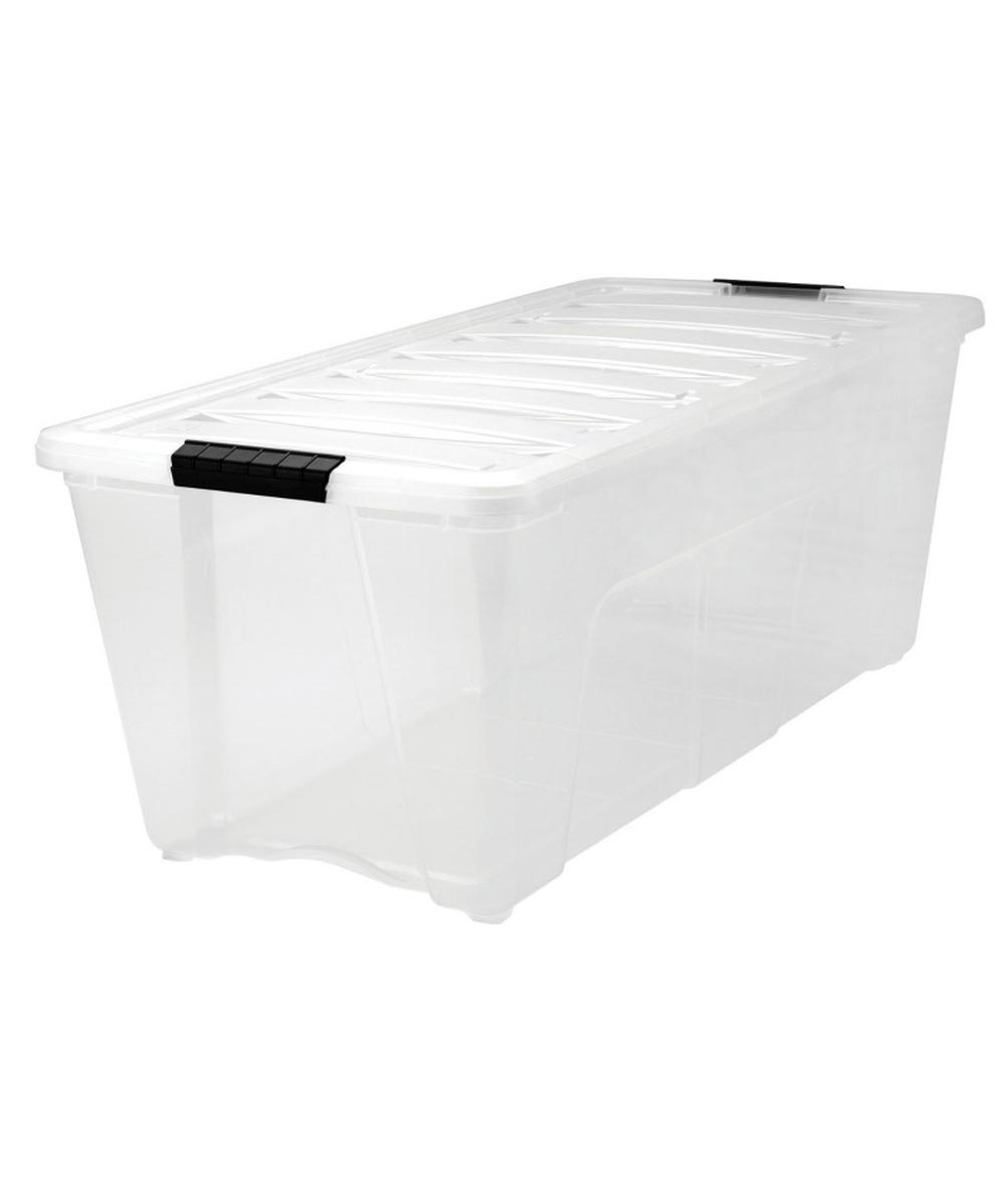 Stack & Pull Modular Storage Box, 83.7 Quarts / 20.93 Gallons