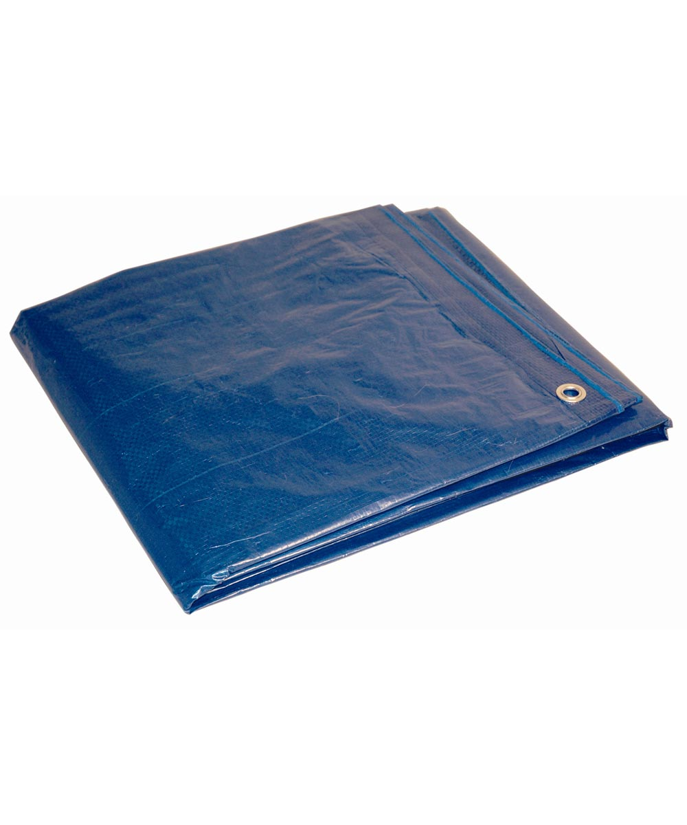 12 ft. x 16 ft. 7 Mil Blue Dry Top Tarp