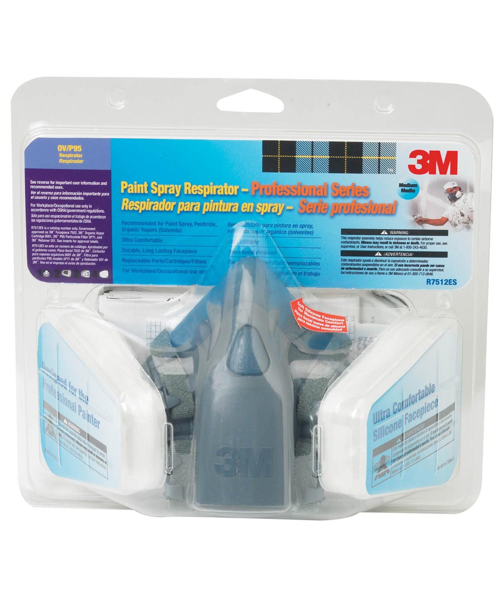 Professional Series Respirator Assembly With Case