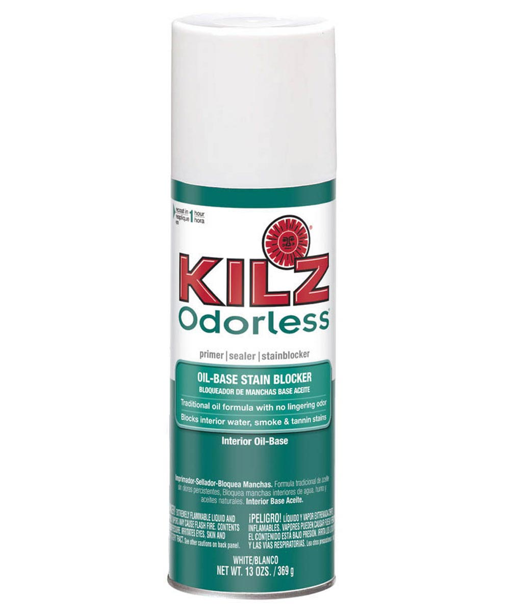 13 oz. White Odorless Oil Base Primer/Sealer/Stainblocker