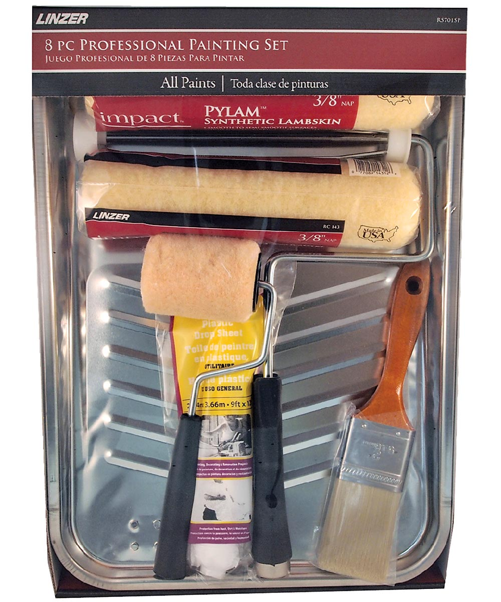 8-piece Impact Professional Painting Tray kit