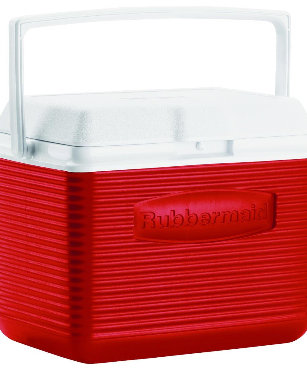 Water Cooler, 10-1/2 in. (L) x 13.4 in. (W) x 9.14 in. (H), Top Swing Handle, White Cap/Lid
