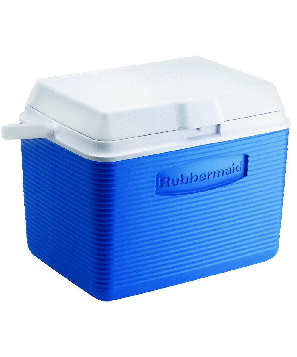 Victory Water Cooler, 24 qt, Plastic, Modern Blue