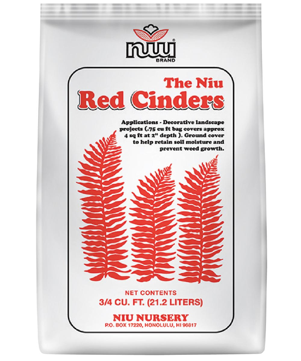 Red Cinders for Landscaping, 3/4 cu. ft.