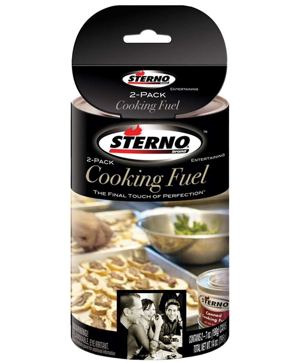 Sterno 7 oz. Gel Canned Cooking Fuel, 2 Pack