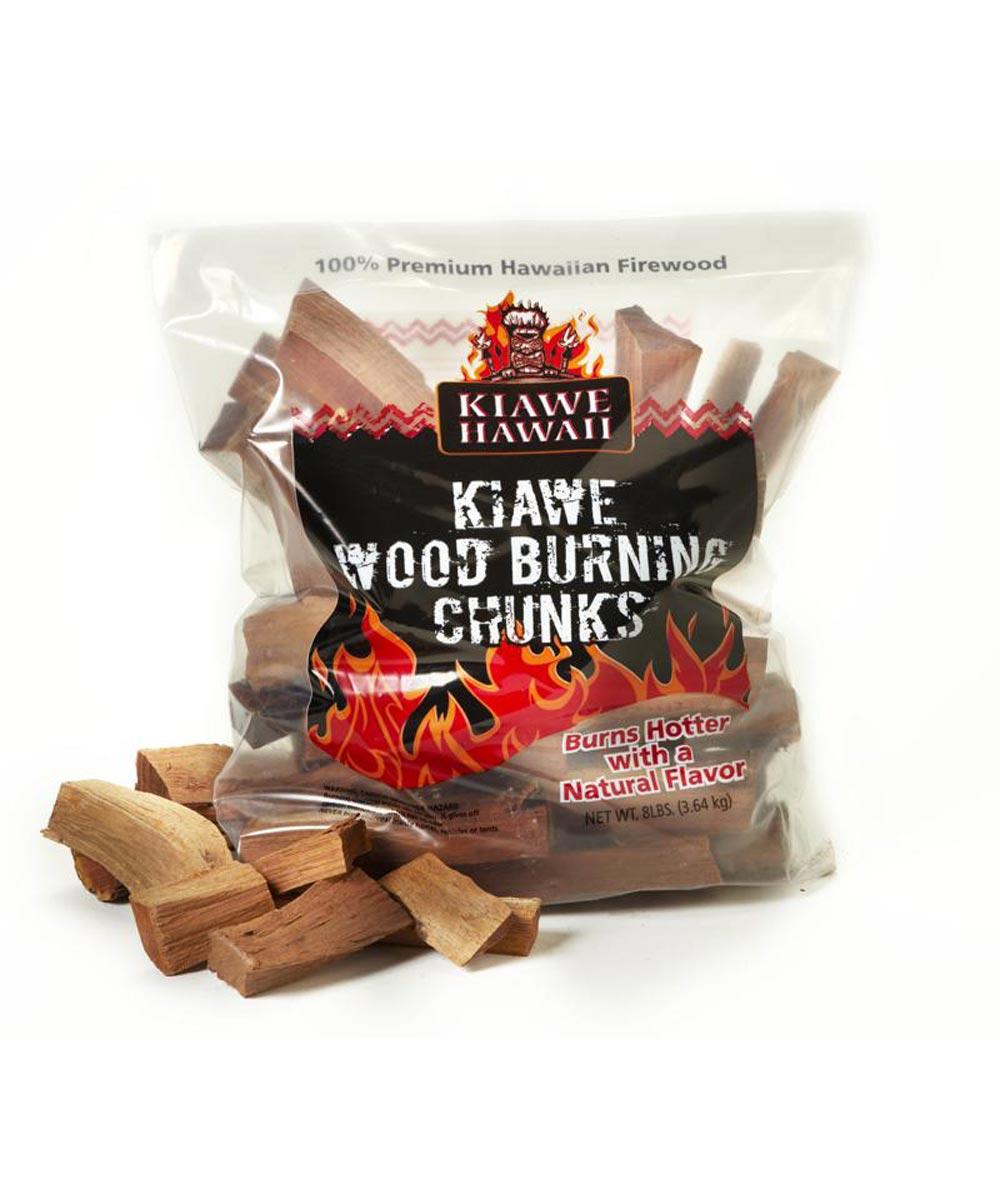 Kiawe Hawaii Wood Burning Chunks, 8 lbs.