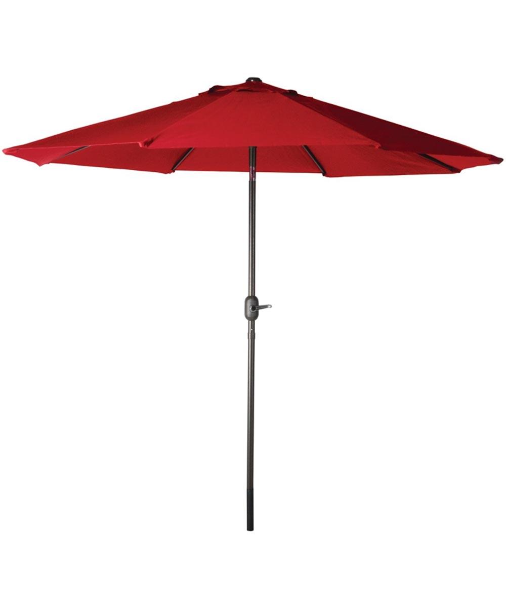 Seasonal Trends 9 ft. Market Crank Umbrella, Sienna