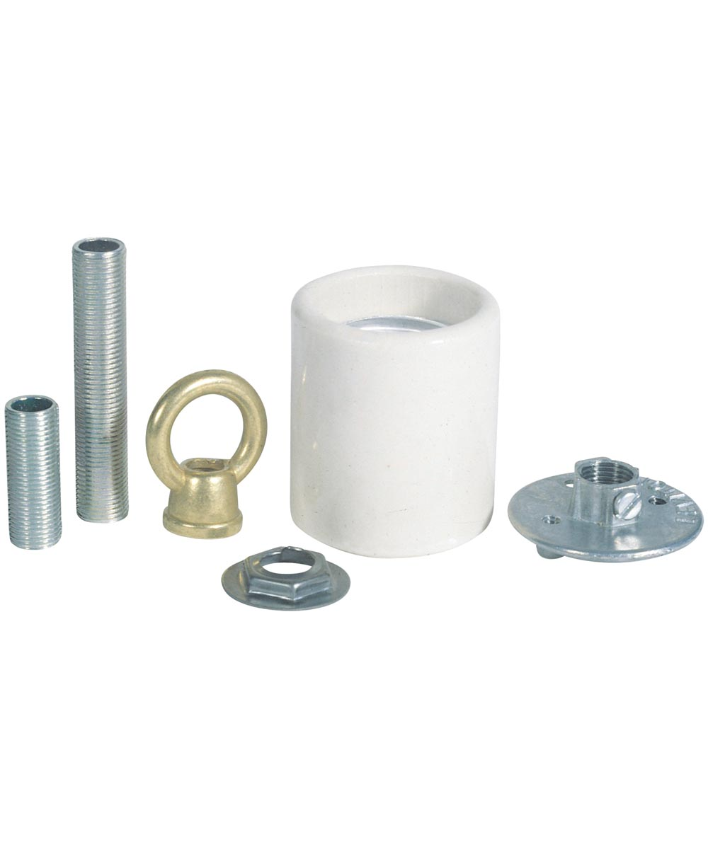 Westinghouse Porcelain Keyless Socket Adaptor Kit