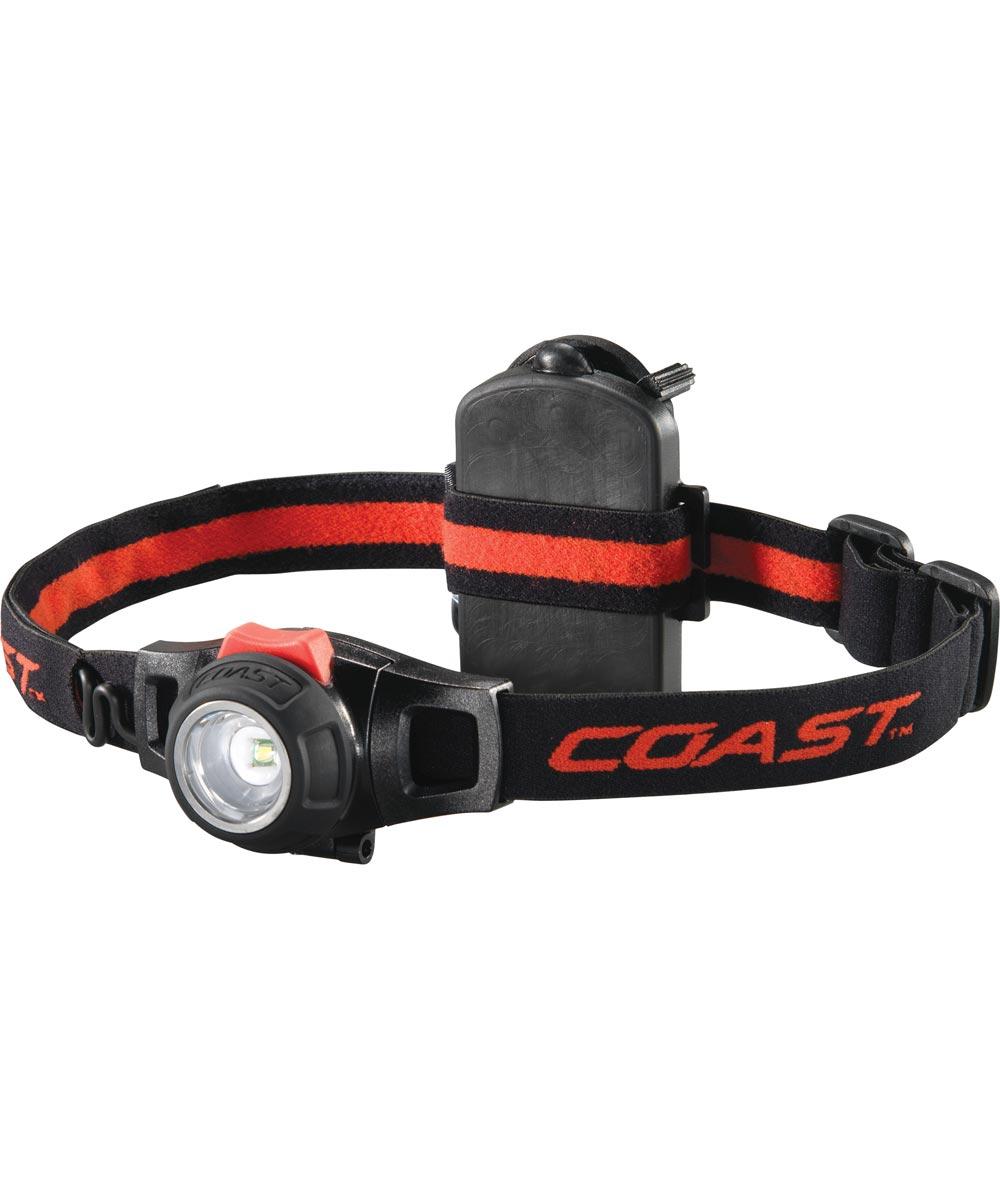 COAST 285 Lumen HL7 Pure Beam Focusing LED Headlamp, 3AAA