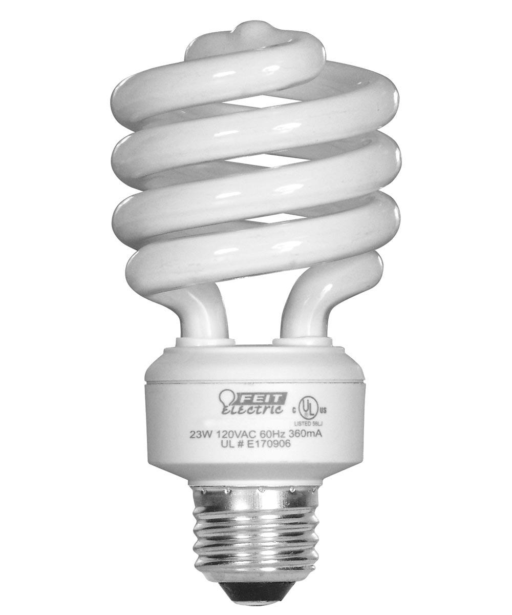 Feit Electric 23 Watt Daylight Mini Twist Light Bulb 4 Count