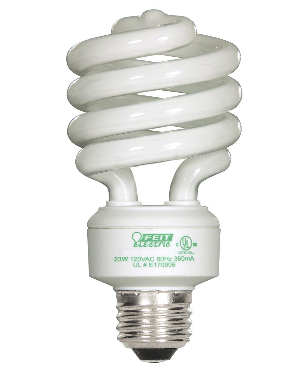 Feit Electric 23 Watt Soft White Mini Twist Light Bulbs 4 Count