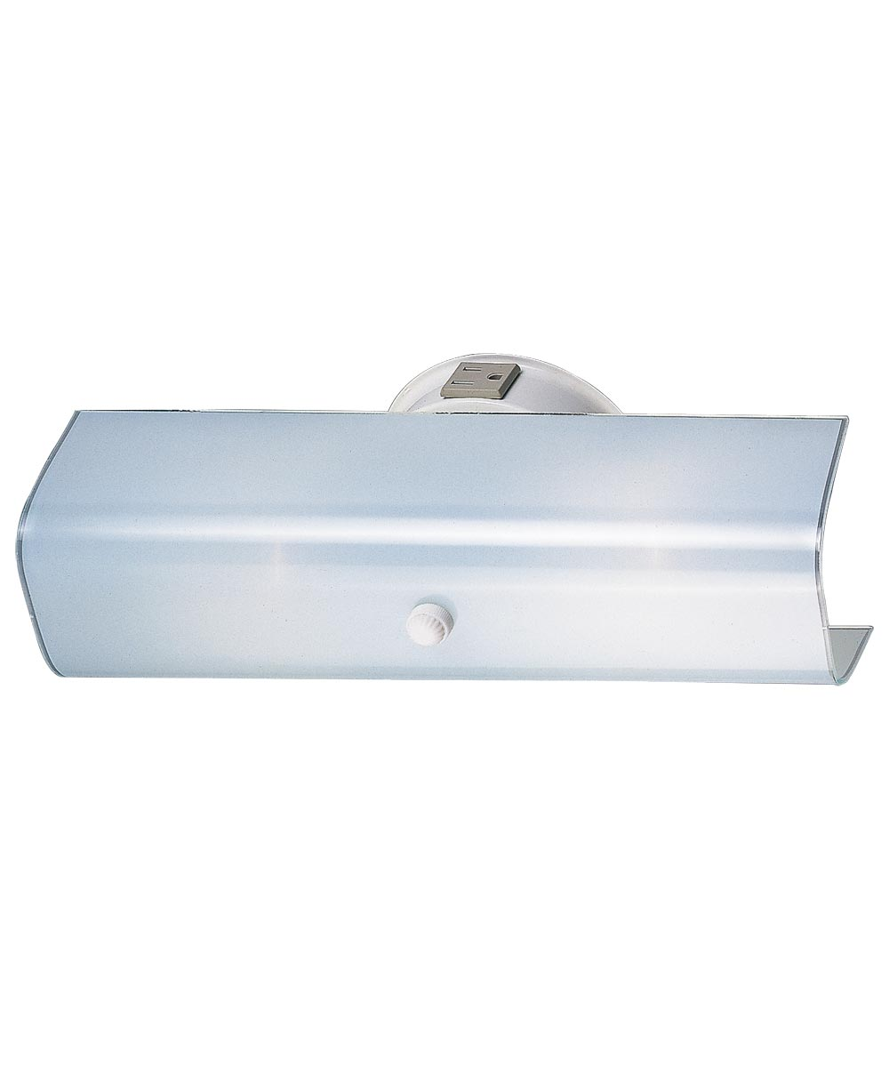 Boston Harbor Dimmable Wall Light Fixture, White