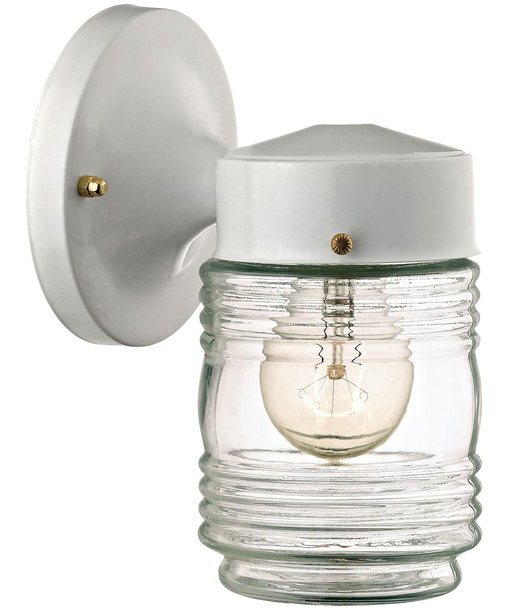 Boston Harbor Dimmable Outdoor Lantern, White