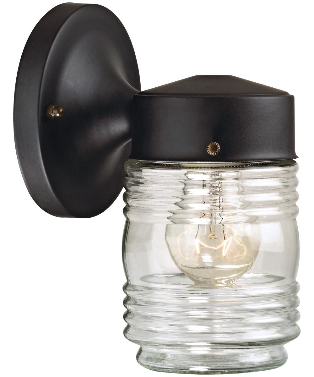 Boston Harbor Dimmable Outdoor Lantern, Black