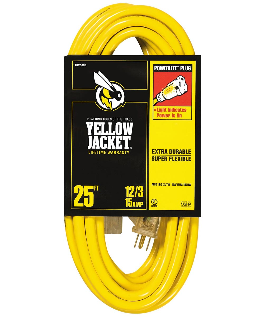 25 ft. 12/3 Extension Cord