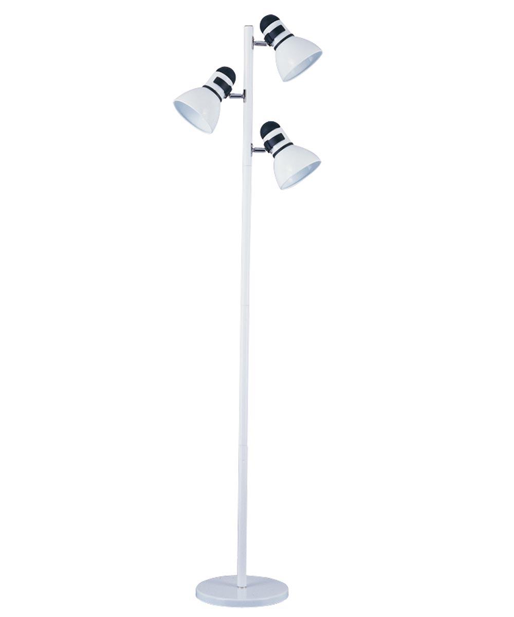 Boston Harbor 3-Light Tree Floor Lamp, White