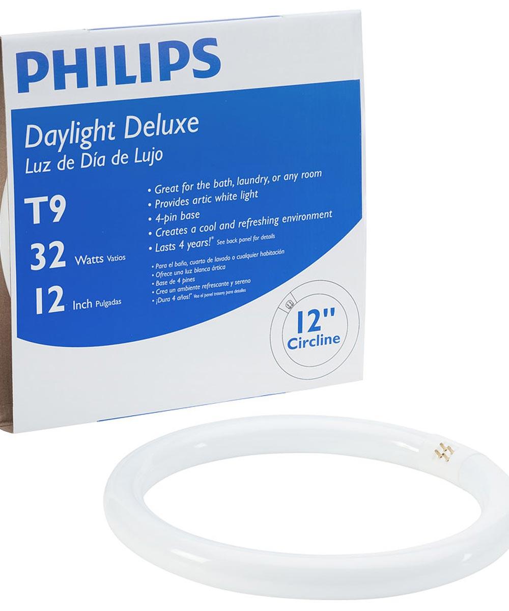 32 Watt 12 in. Circline Daylight Deluxe T9 Light Bulb