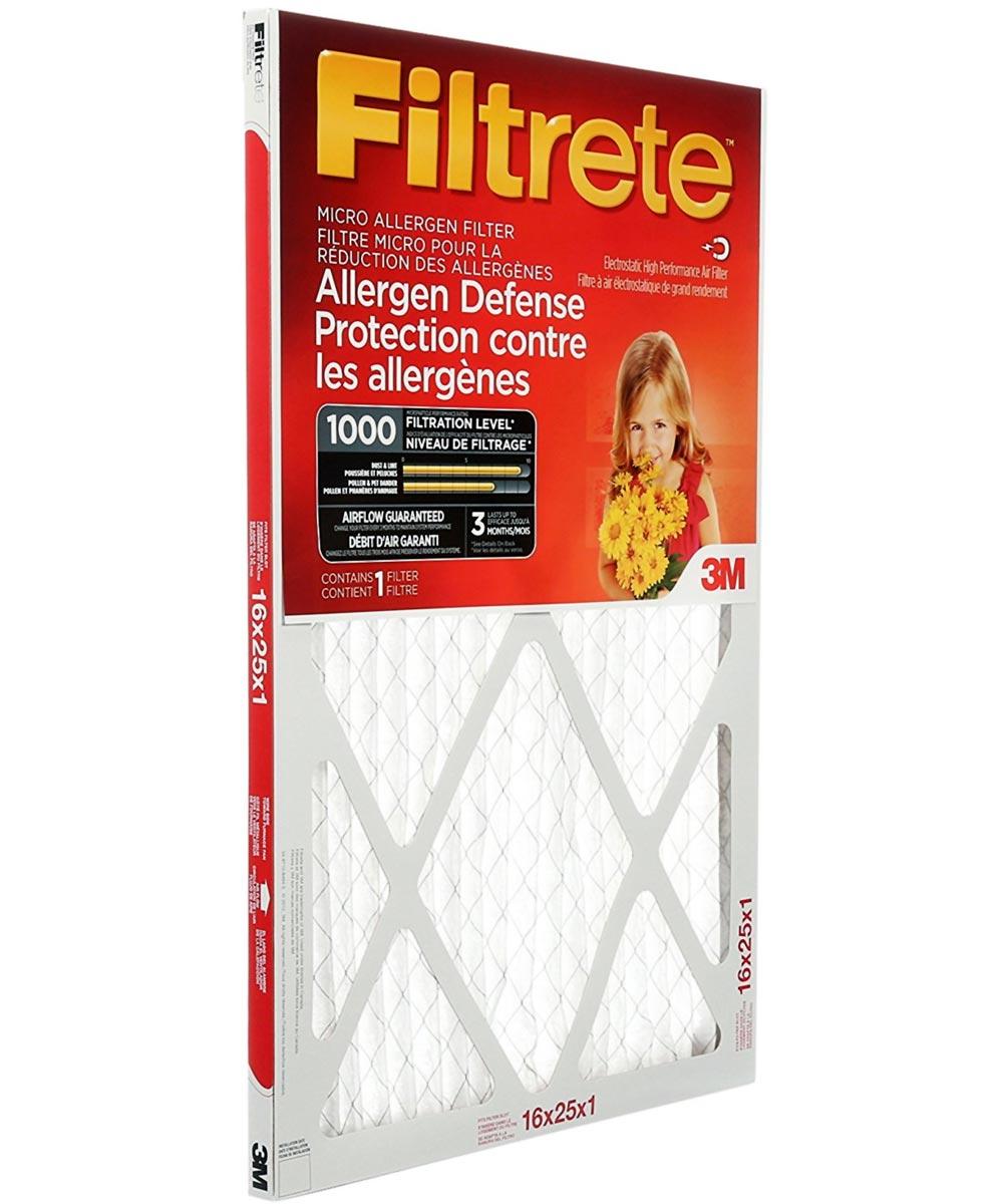 16 in. x 25 in. x 1 in. Micro Allergen Reduction Filter