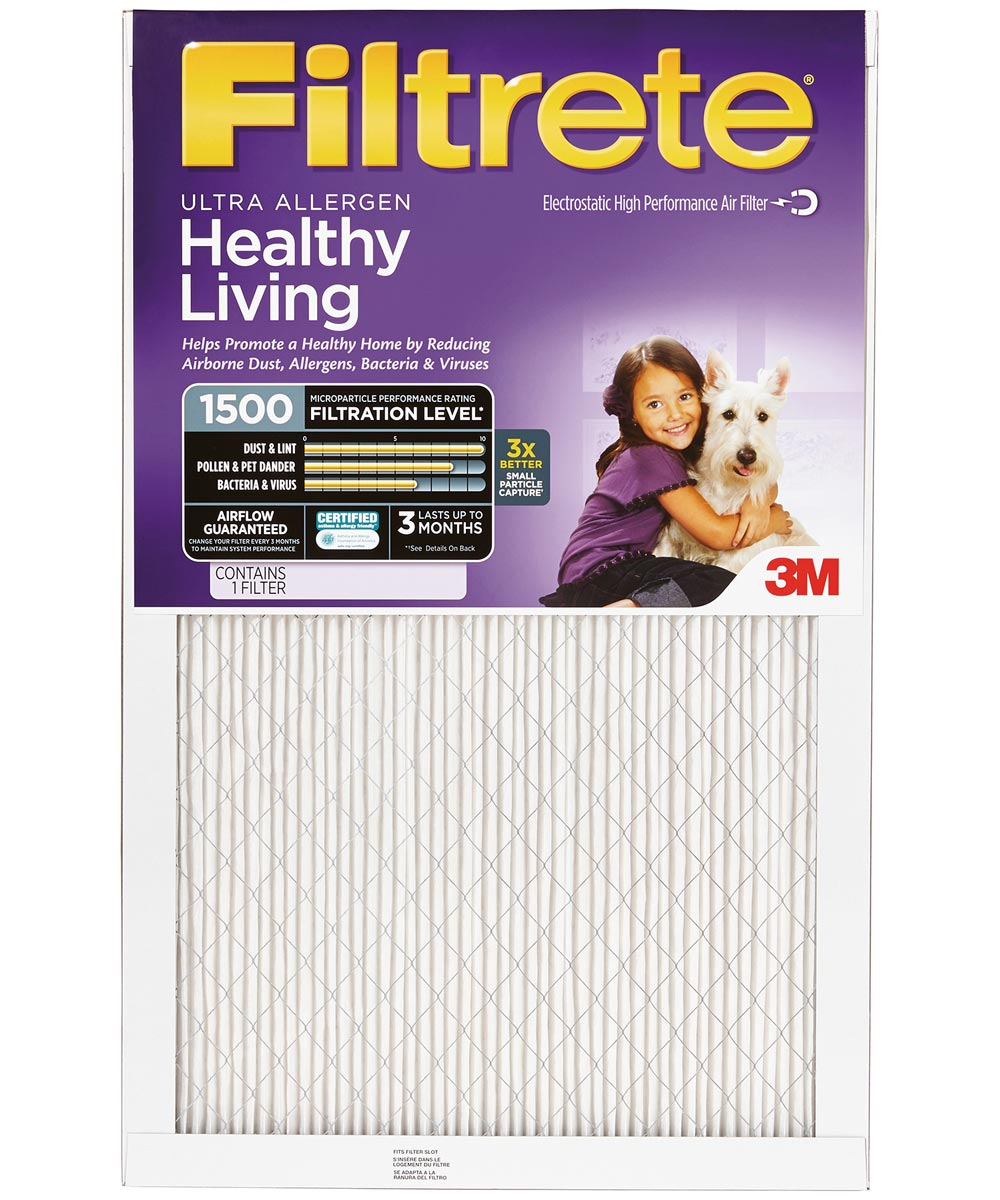 20 in. x 25 in. x 1 in. Ultra Allergen Healthy Living Air Filter 1500