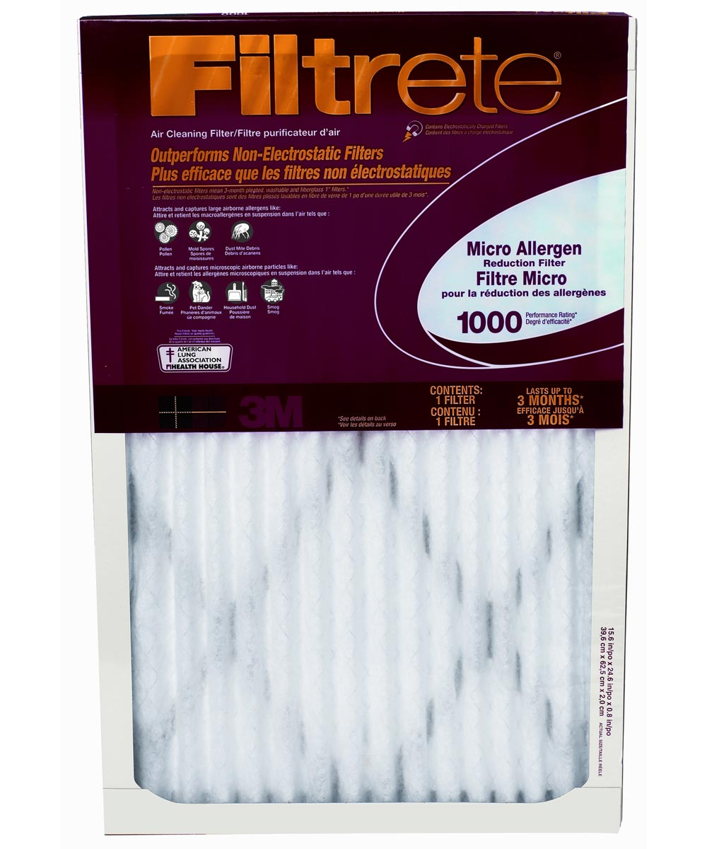 20 in. x 24 in. Filtrete Micro Allergen Filter