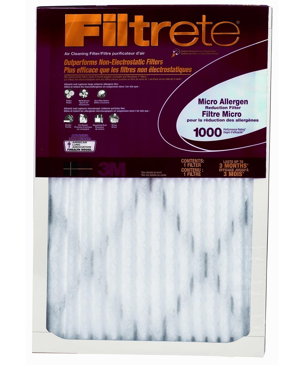 16 in. x 20 in. x 1 in. Filtrete Micro Allergen Reduction Filter