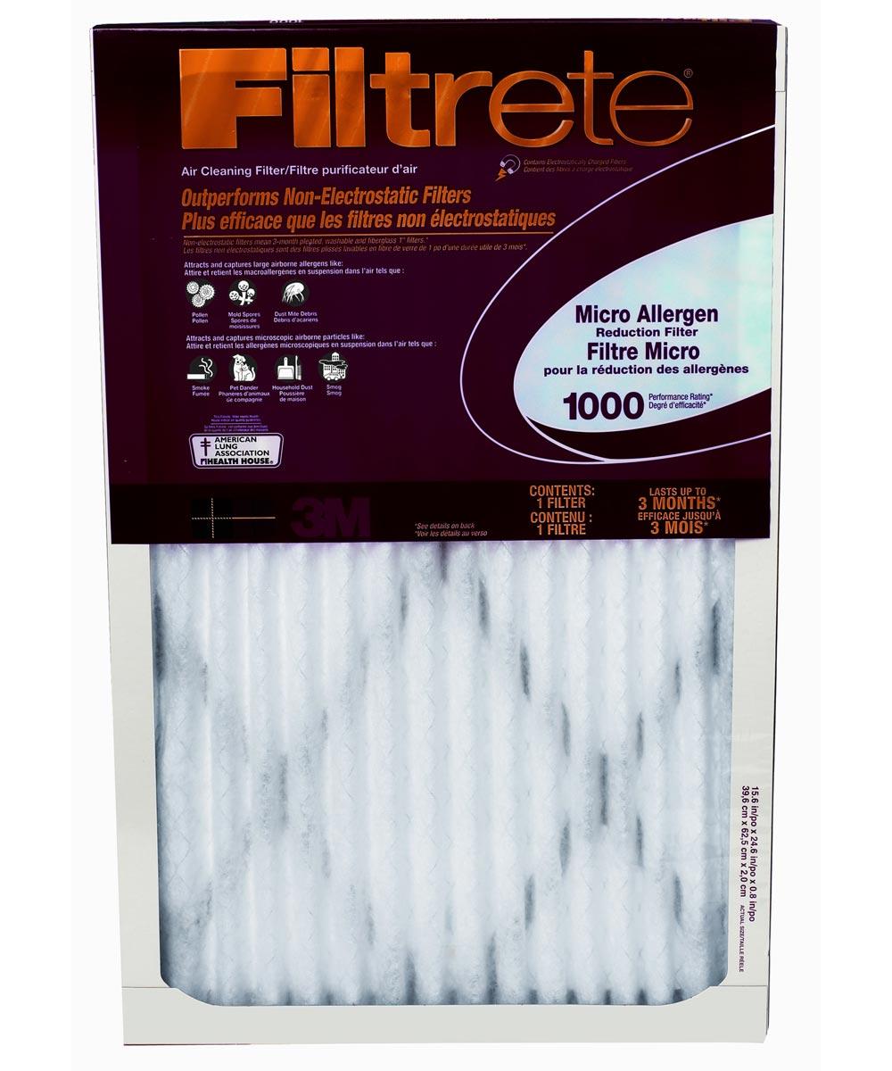 20 in. x 30 in. Filteret Micrto Allergen Filter