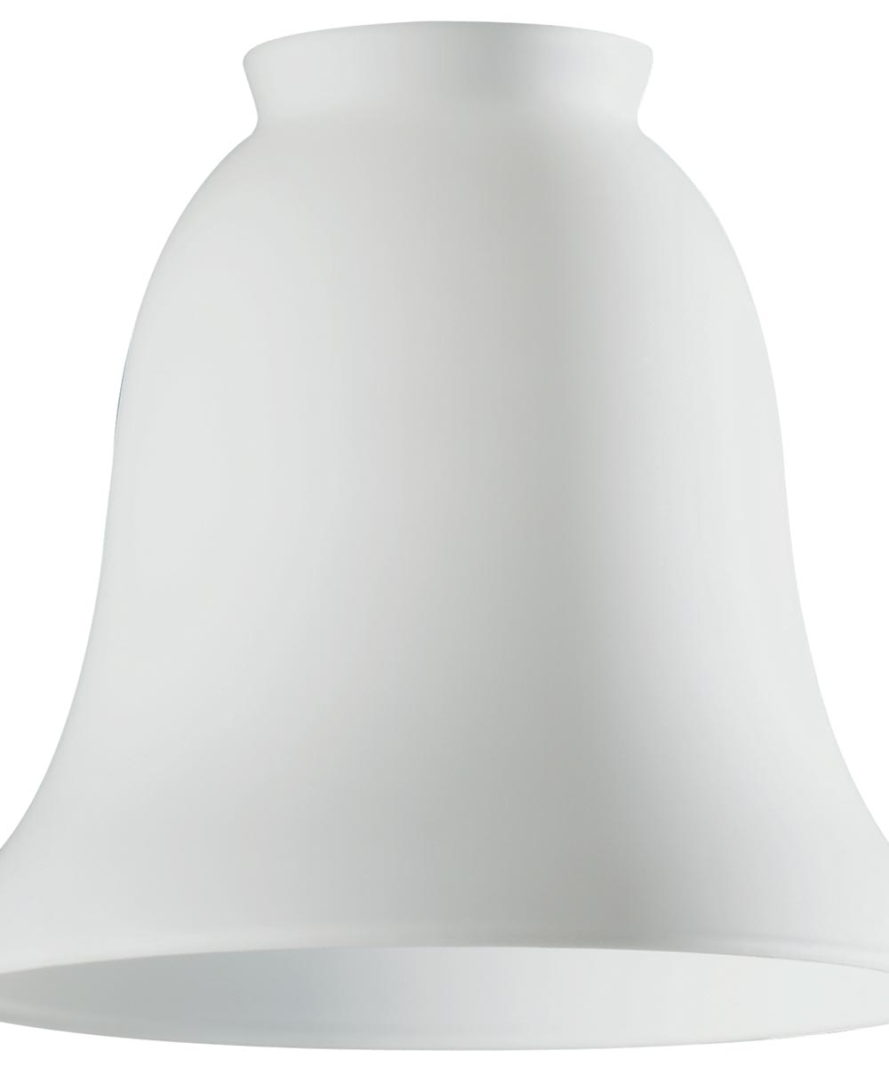 2-1/4 in. White Opal Bell Lamp Shade