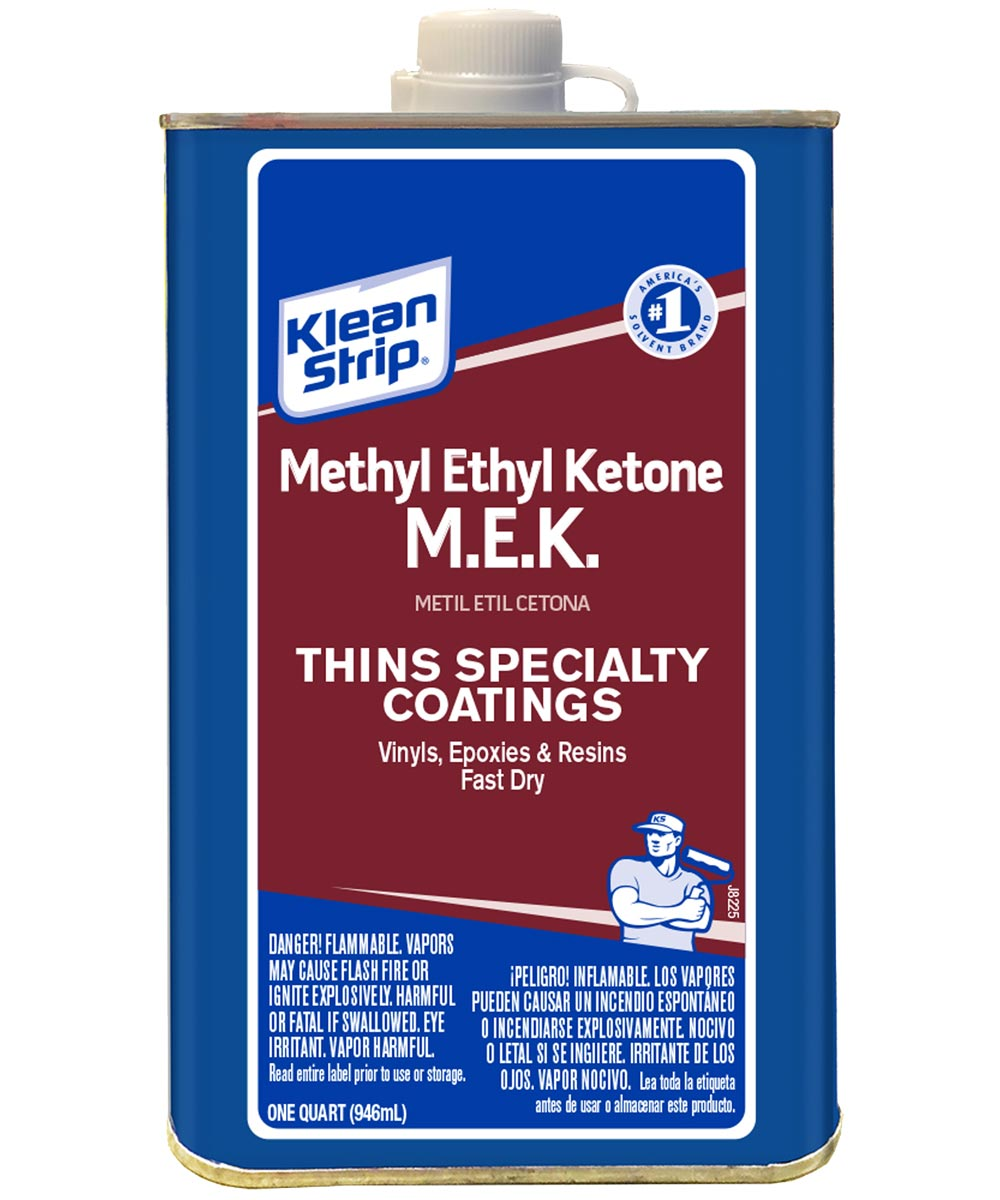 Klean-Strip Methyl Ethyl Ketone, 1 qt, Liquid