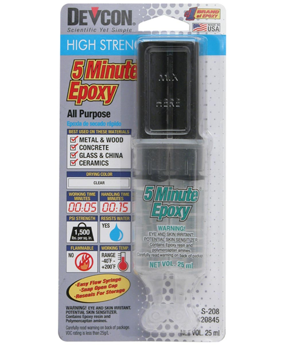 High Strength 5-Minute Fast Drying Epoxy