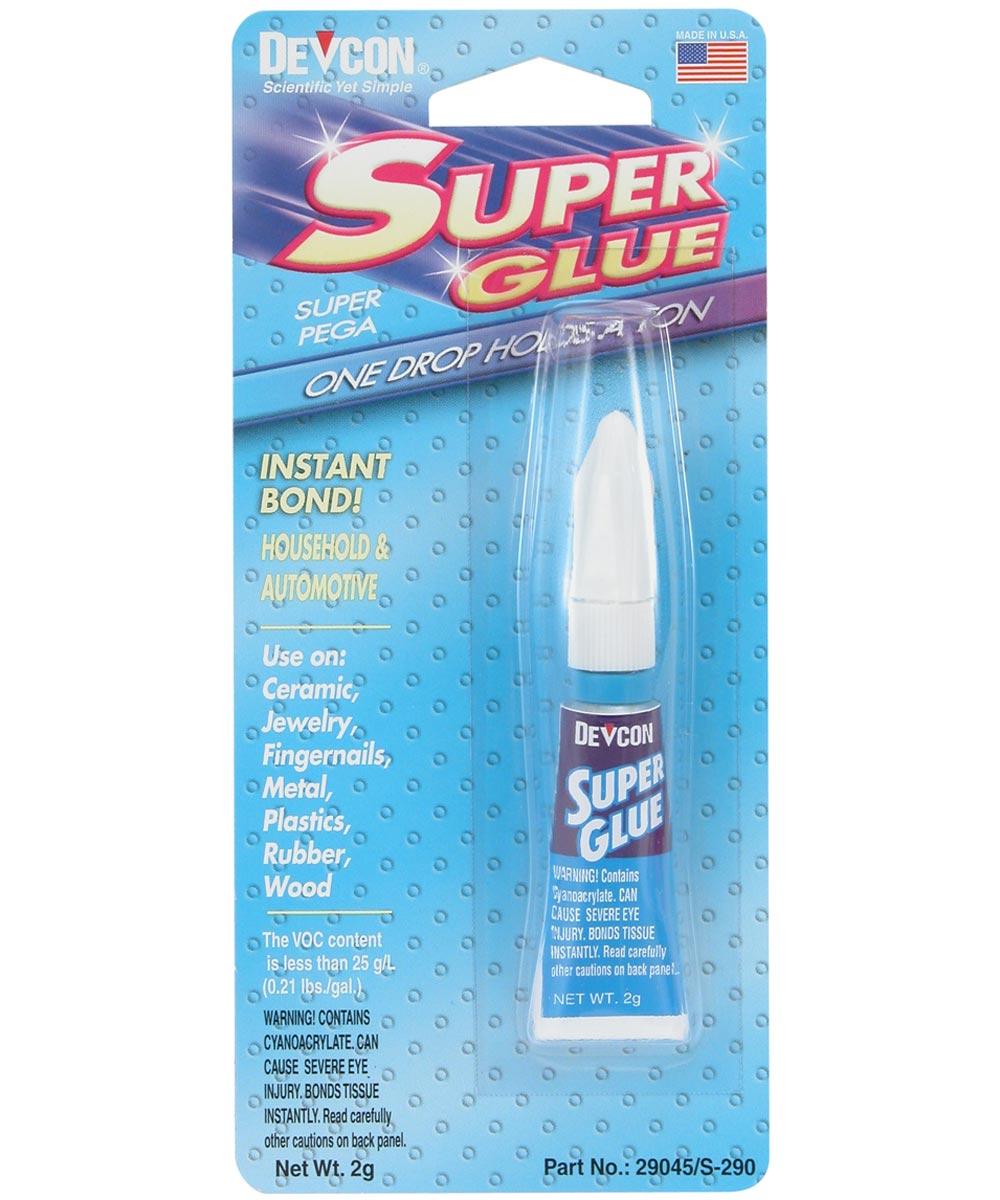 Super Glue No-Run Gel, 2 gm
