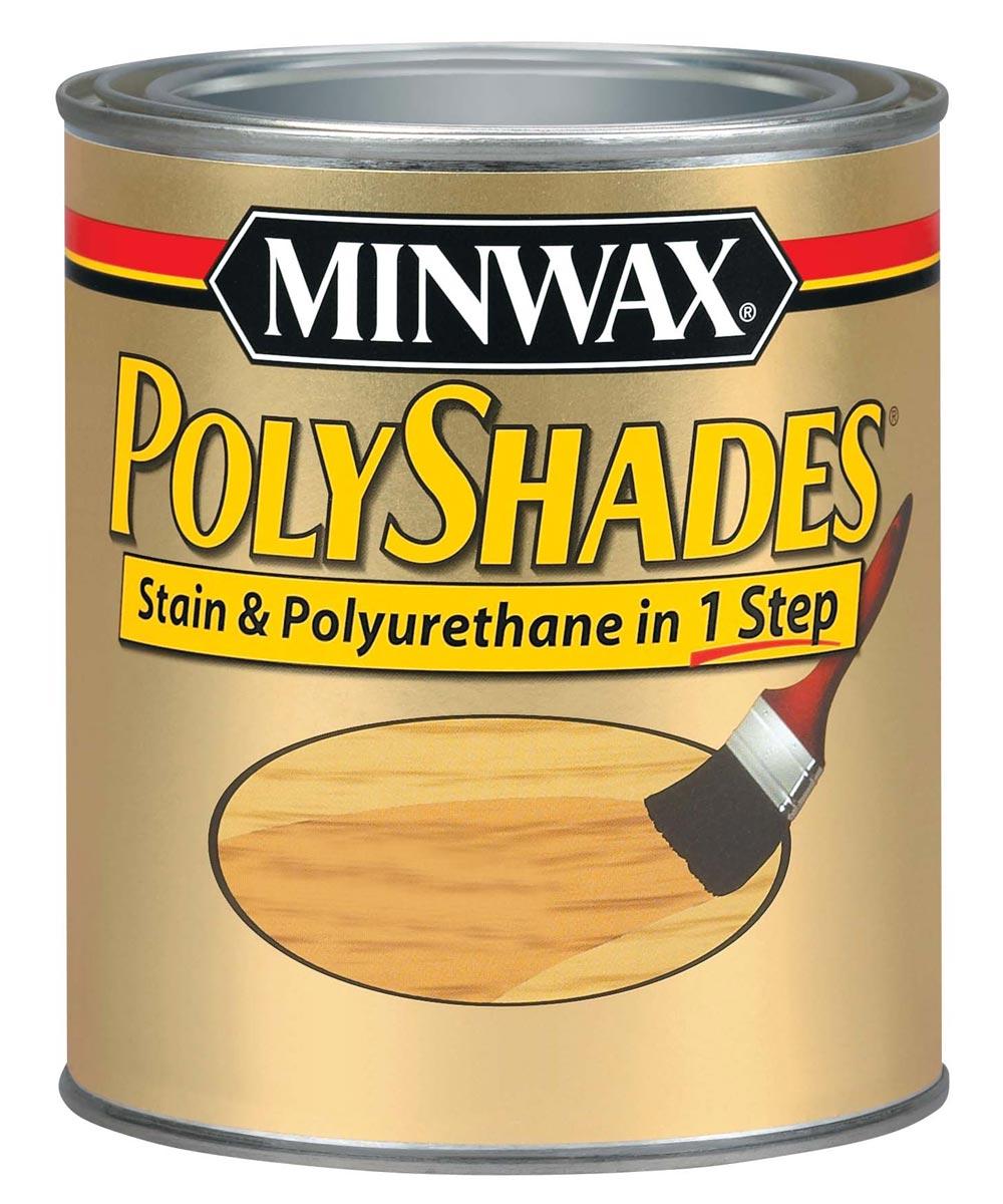 1/2 Pint Royal Walnut Polyshades Wood Stain Satin