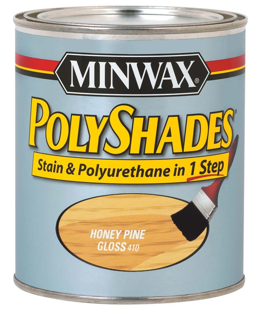 1/2 Pint Pine Polyshades Gloss Wood Stains