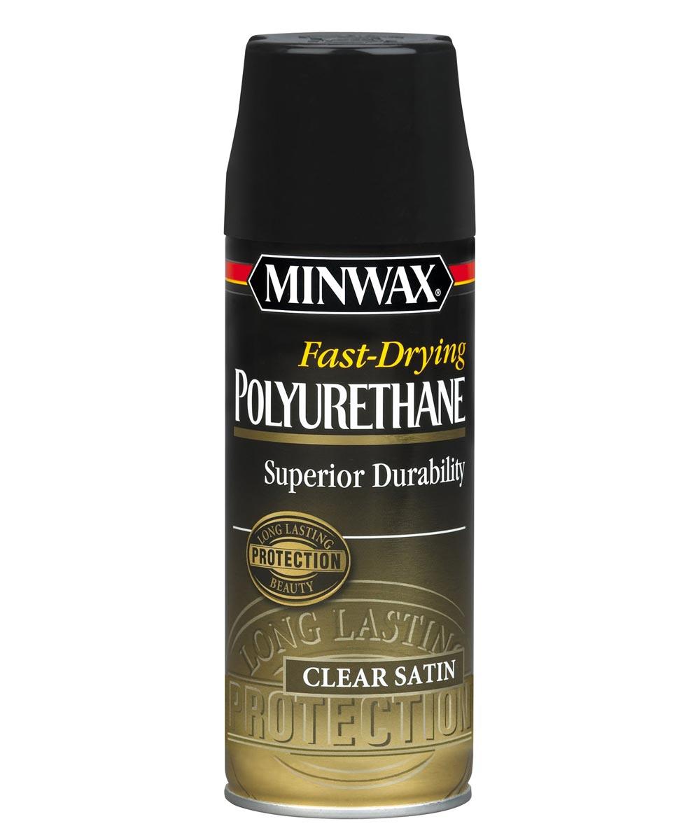 11.5 oz. Satin Fast-Drying Polyurethane Finish