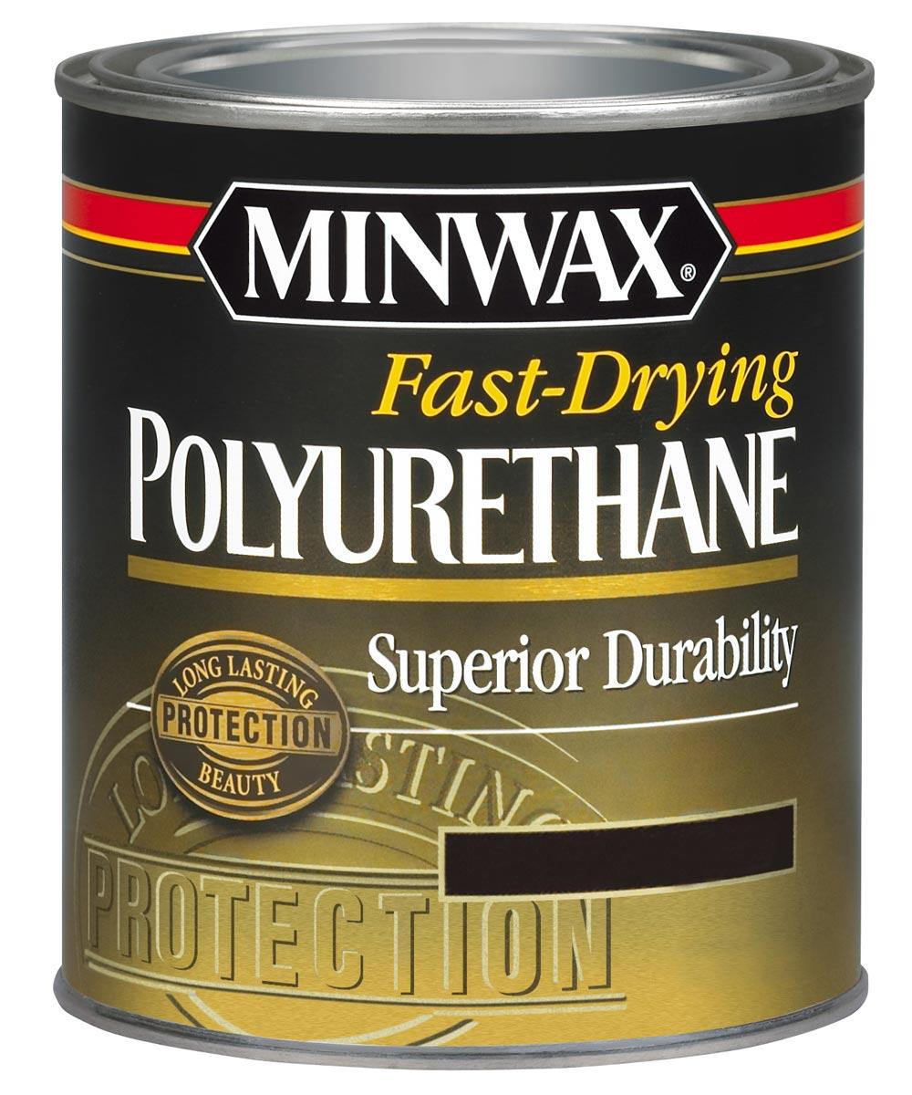 1 Quart Fast Drying Polyurethane Semi Gloss Finish