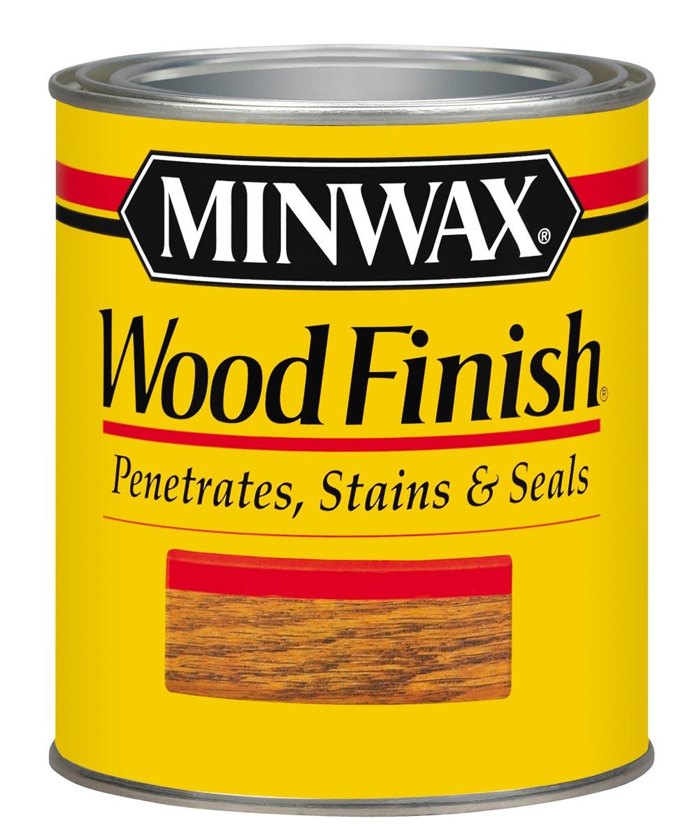 1 Quart Golden Oak Wood Finish Interior Wood
