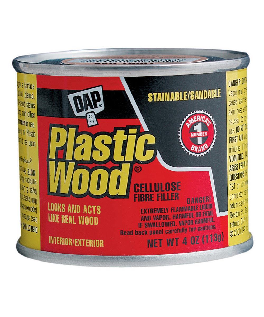 4 oz. Plastic Wood Filler