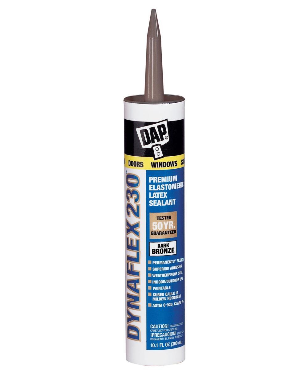 Dark Bronze Dynaflex 230 Premium Elastomeric Latex Sealant, 10.1 oz.