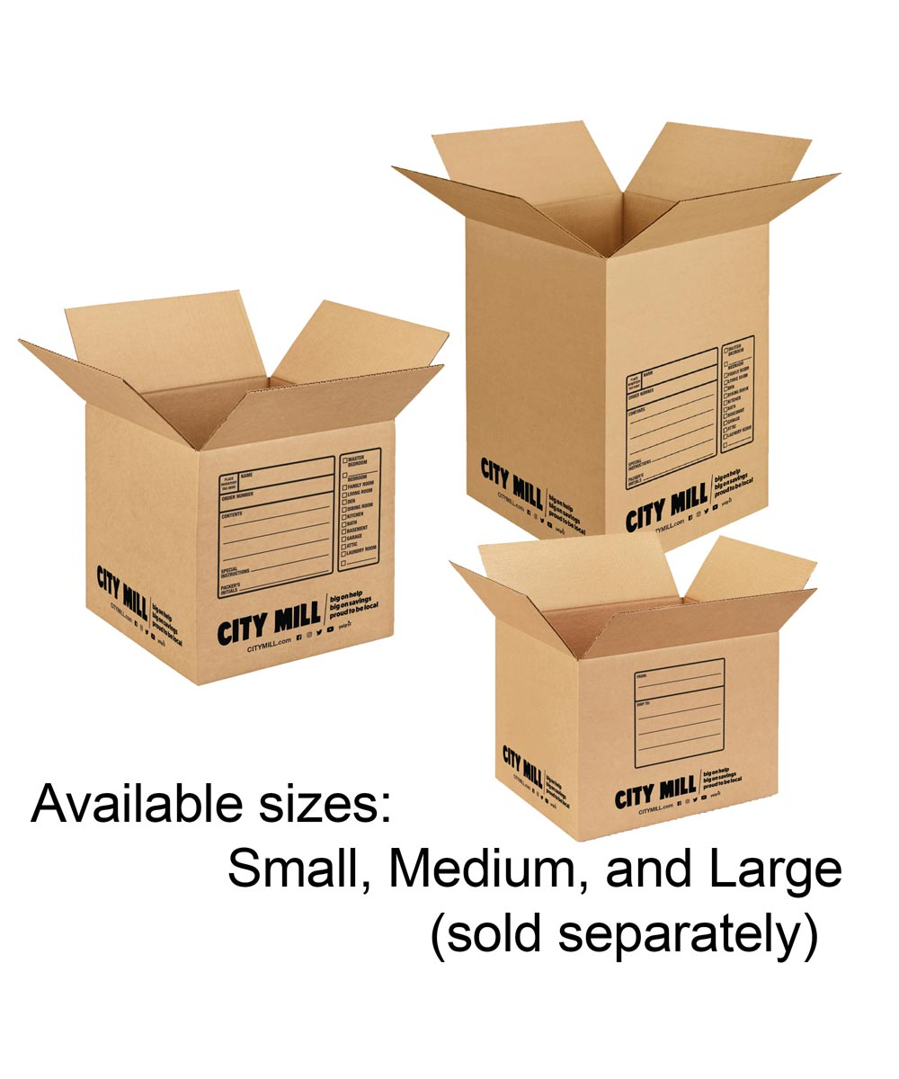 Small Moving Box, 12 in. x 12 in. x 16 in.