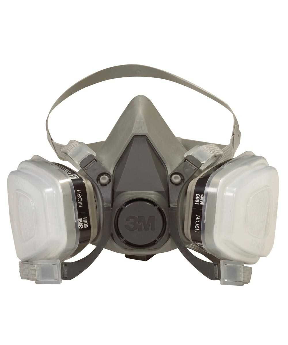 3M Dual Cartridge Paint Spray Respirator Mask