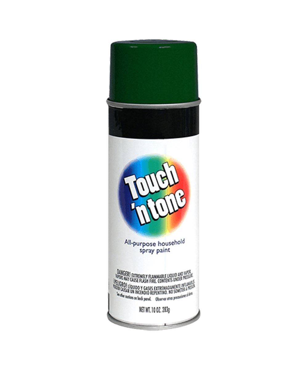 Touch N Tone General Purpose Spray Paint, 10 oz., Hunter Green