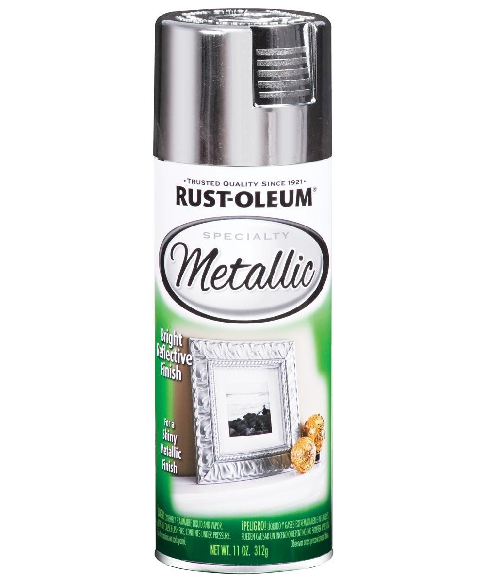 Specialty Metallic Spray, 11 oz Spray Paint, Silver