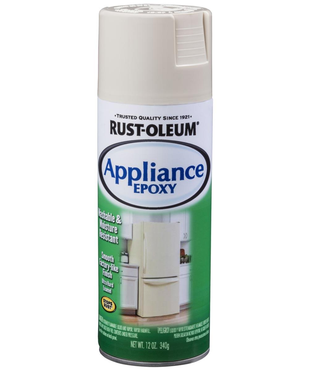 Specialty Appliance Epoxy Spray, 12 oz Spray Paint, Almond