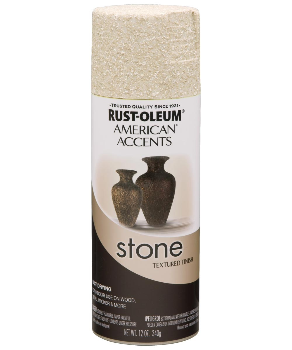 American Accents Stone Spray Paint, Bleached Stone