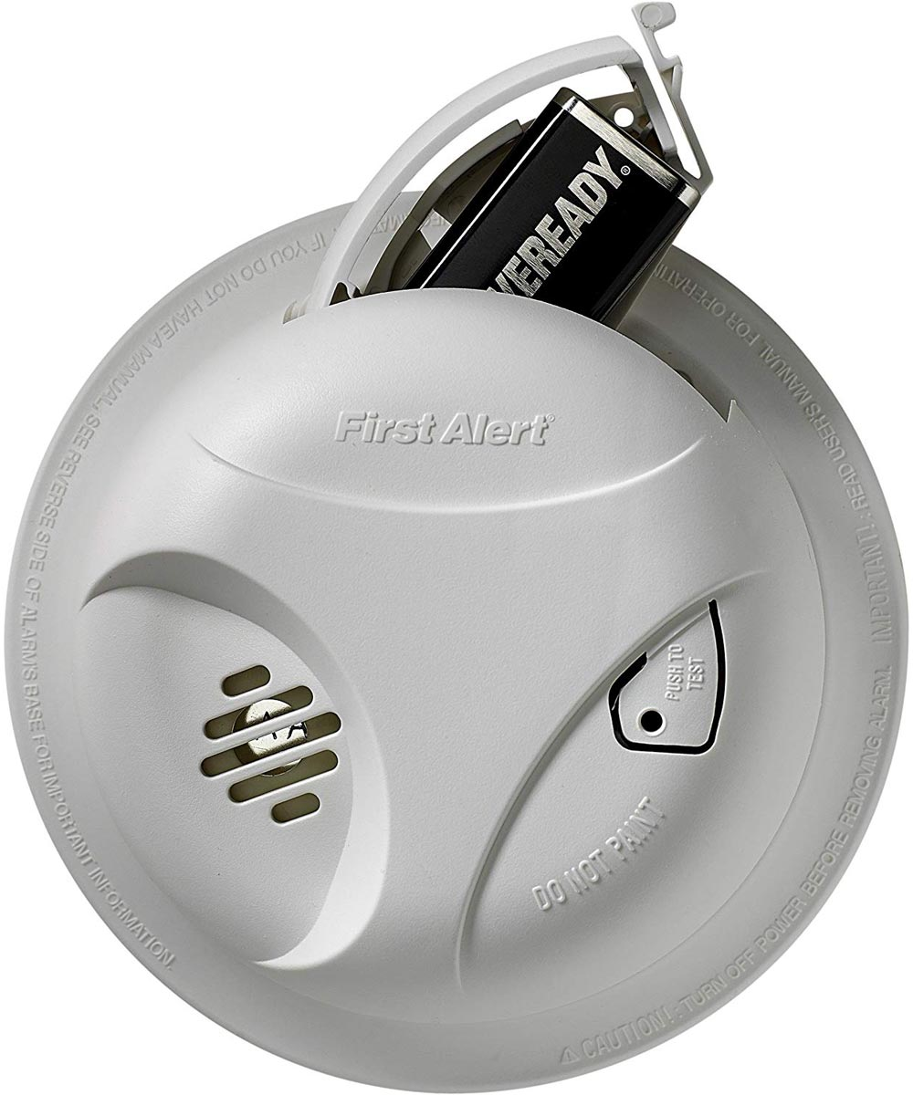First Alert Battery Operated Ionization General Use Smoke Alarm