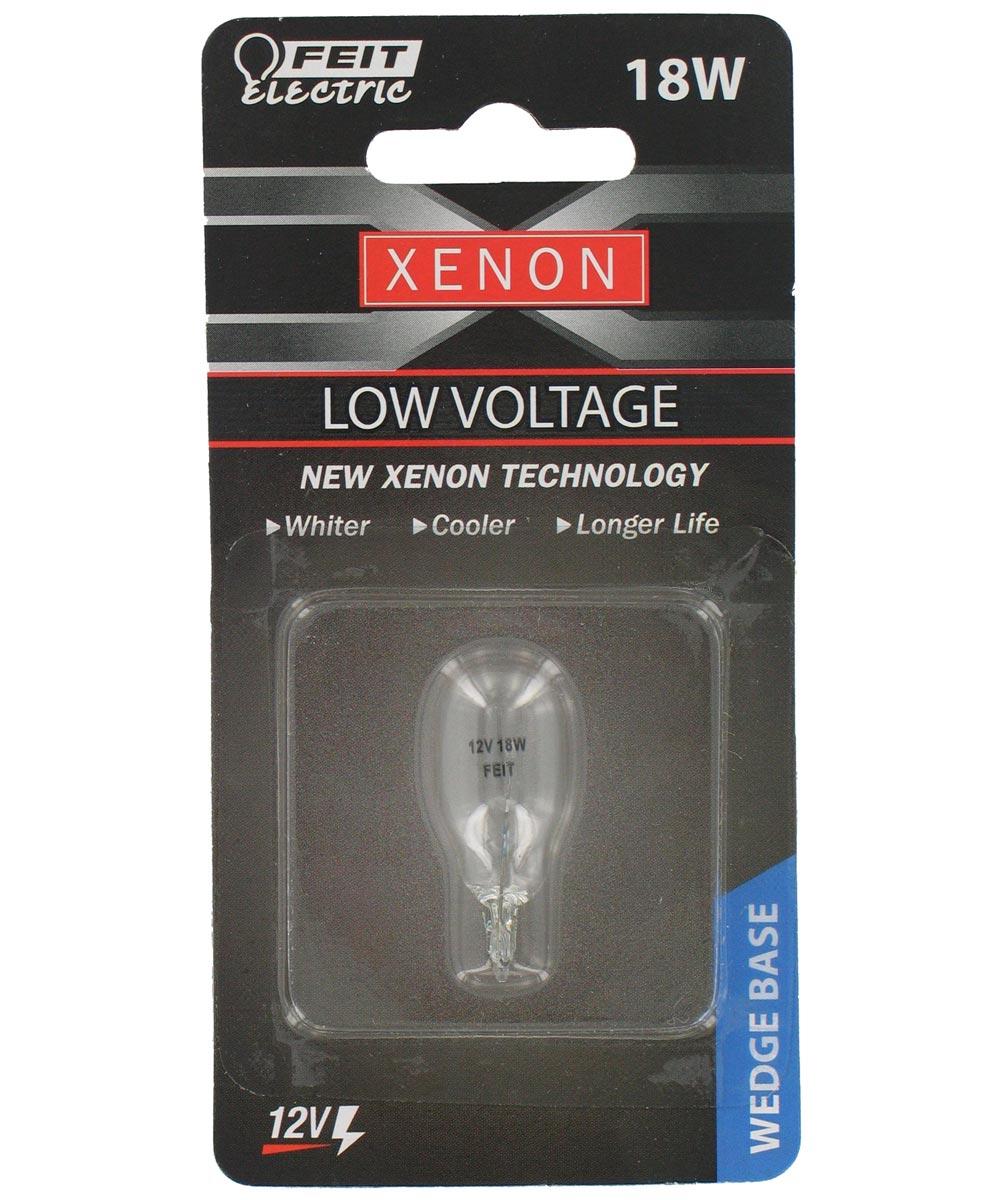 18 Watt T5 Clear Wedgebase Xenon Halogen Bulb