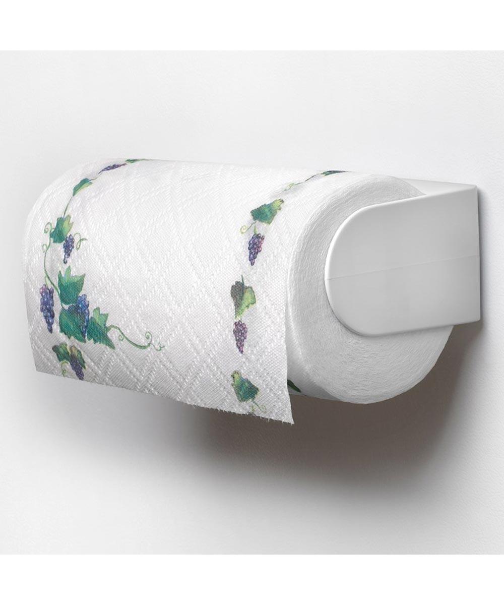White Magnetic Paper Towel Holder