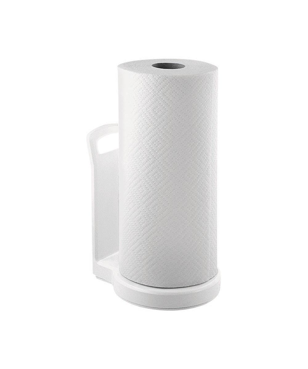 Plastic Countertop Paper Towel Holder, White