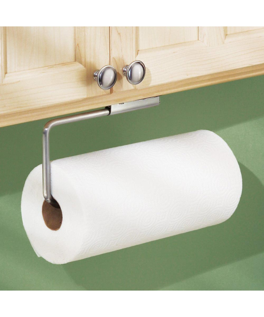 Forma Stainless Steel Swivel Paper Towel Holder, Wall Mount or Under Cabinet