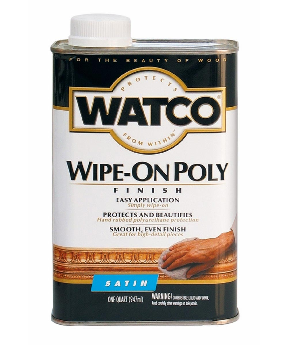 WATCO Wipe-On Poly, Quart, Satin